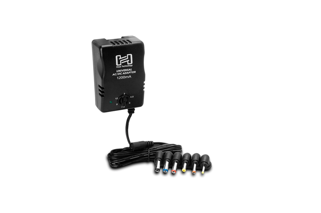 Hosa - ACD477 Universal Power Adaptor, Selectable up to 12VDC, 1200mA