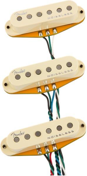 Fender - Gen 4 Noiseless Strat Pickups, Set of 3