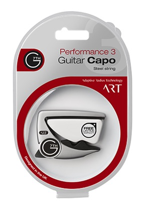 G7TH - Performance 3 ART Capo, Silver
