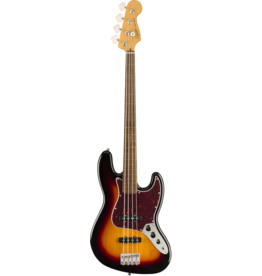 Squier - Classic Vibe '60s Jazz Bass Fretless, 3-Color Sunburst