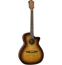 Fender - FA-345CE Auditorium Acoustic/Electric, 3-Tone Tea Burst