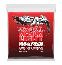 Ernie Ball - Nickel Wound 12-54 Medium Light w/Wound G