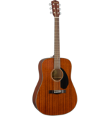 Fender - CD60S Dreadnought Acoustic, All Mahogany