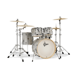 Gretsch - Catalina Maple 5pc Shell Pack, Silver Sparkle