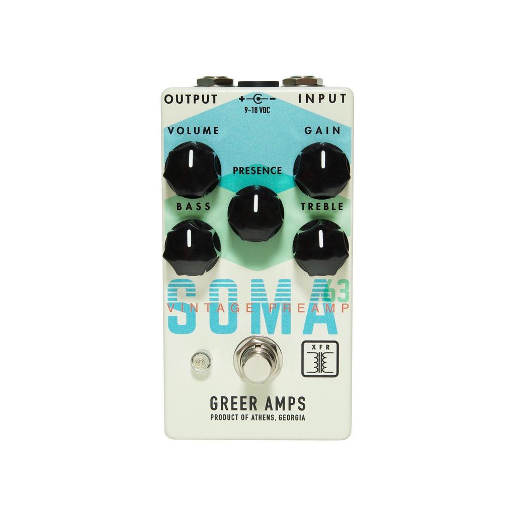 Greer Amps - SOMA '63 Vintage Preamp Pedal