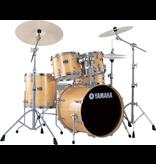 Yamaha - SBX0F56 Stage Custom Birch 5-Piece Drum Kit, Natural, w/Hardware
