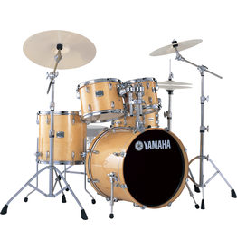 Yamaha - SBX0F56 Stage Custom Birch 5-Piece Drum Kit, Natural, w/Hardware