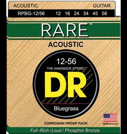 DR Strings - RARE Phosphor Bronze Acoustic, 12-56 Bluegrass