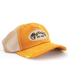 Martin - Vintage Pick Hat, Orange w/tan mesh