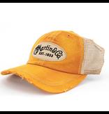 Martin - Vintage Pick Hat, Orange w/tan mesh