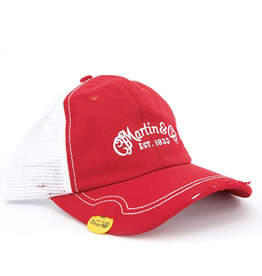 Martin - Vintage Pick Hat, Red w/Mesh