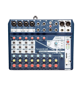 Soundcraft - NOTEPAD-12FX 12 Channel Mixer w/FX & USB I/O