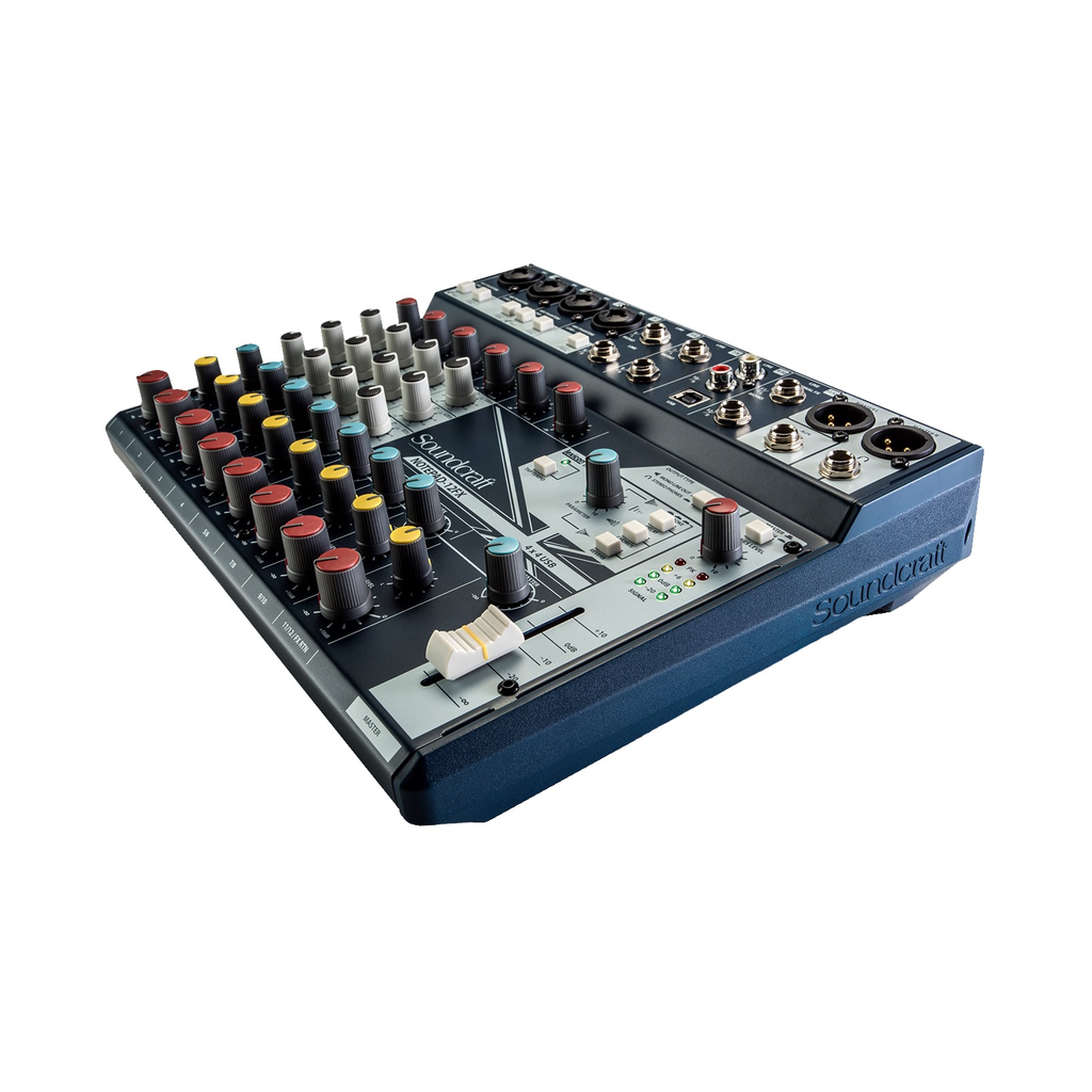Soundcraft - NOTEPAD-12FX 12 Channel Mixer w/FX & USB I/O