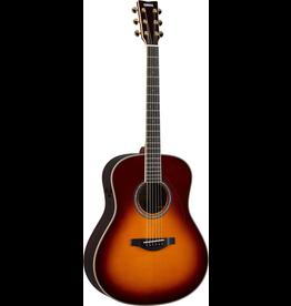 Yamaha - LL-TA TransAcoustic Dreadnought Acoustic w/Case, Brown Sunburst
