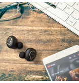 Tannoy - Life Buds Audiophile Wireless Earbuds w/ Recharging Case