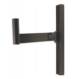 On-Stage - SS7323B Universal Wall Mount Speaker Brackets, Pair