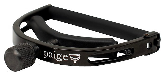 Paige - 12 String Capo, Black