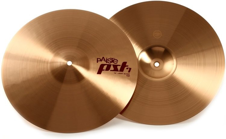 Paiste - PST 7 Series Light Hi-Hat, 14""