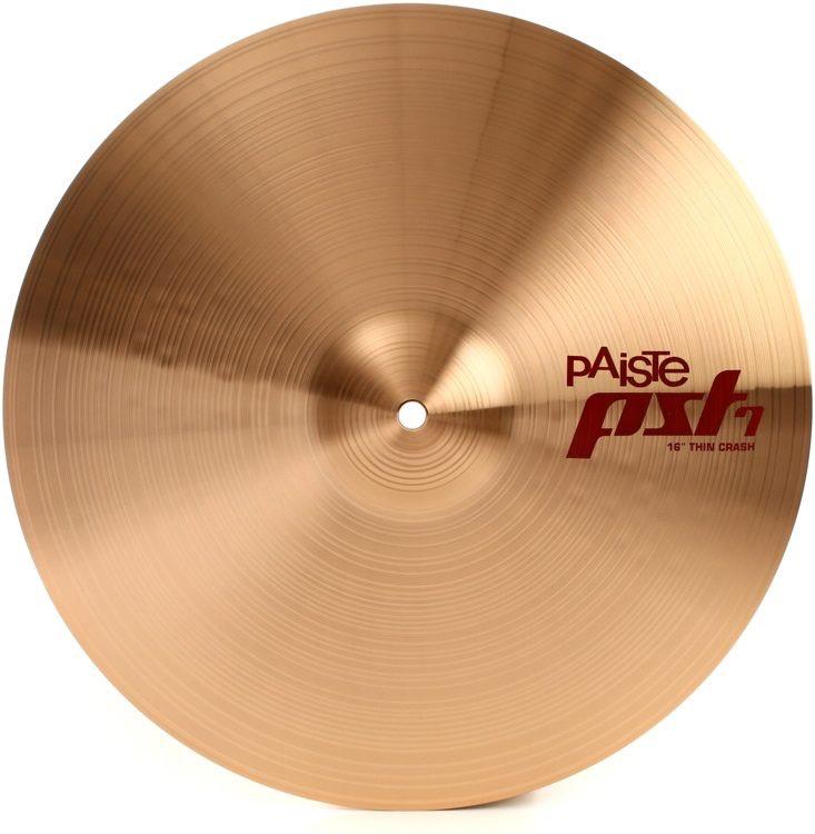 "Paiste - PST 7 Series Thin Crash, 16"""