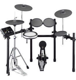 Yamaha - DTX532K Series Electronic Drum Kit w/Stool/Pedal Pack & Headphones