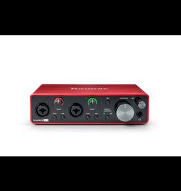 Focusrite - Scarlett 2i2 3rd Gen USB 2.0 Audio Interface