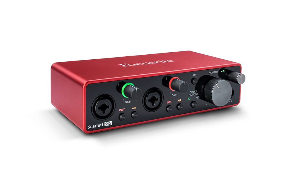 Focusrite - Scarlett 2i2 3rd Gen USB 2.0 Audio Interface