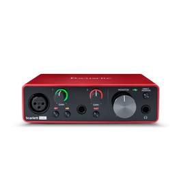 Focusrite - Scarlett Solo 3rd Gen USB Audio Interface