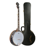 Gold Tone - OB-150 Orange Blossom 5 String Banjo, Cast Tone Ring, w/Hardcase