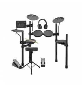 Yamaha - DTX402KC Electronic Drum Kit w/Stool & Headphones