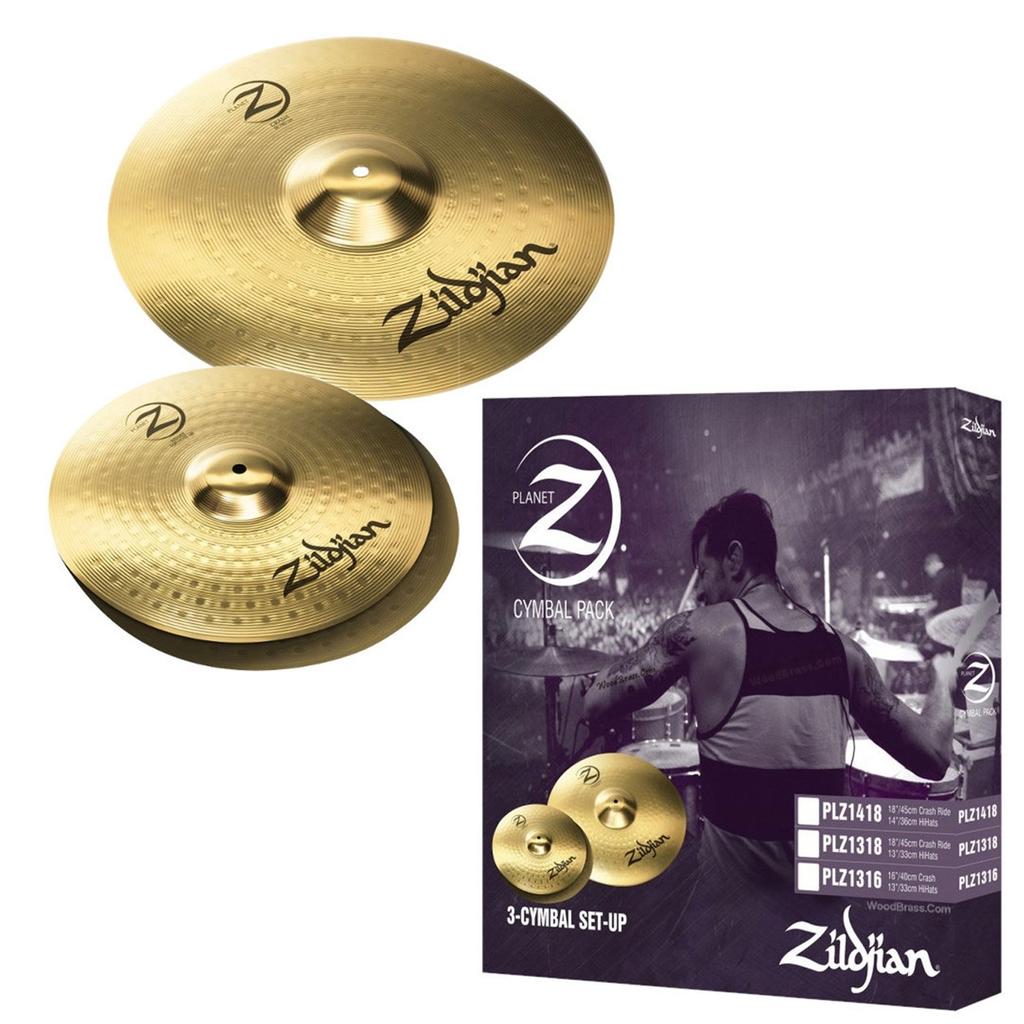 Zildjian - Planet Z PLZ1316 Cymbal Pack