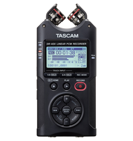 Tascam - DR-40X 4 Track Portable Digital Recorder w/Combo XLR Inputs