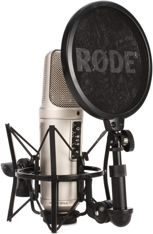 Rode - NT2-A Studio Solution Pack w/Shockmount and Cable