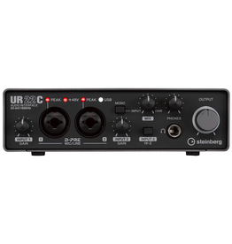 Steinberg - UR22C 2 Channel USB 3.0 Recording Interface