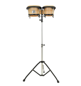 "Pearl - Primero Series 7 & 8.5"" Wood Bongos w/Stand"