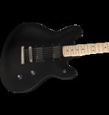Squier - Contemporary Series Active Starcaster, Flat Black