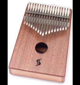 Stagg - Kalimba Mahogany Pro 17 Key, w/Bag and Tuning Key