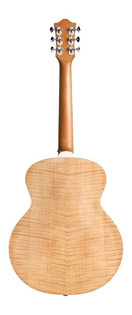 Guild - Jumbo Junior Flamed Maple, Antique Blonde