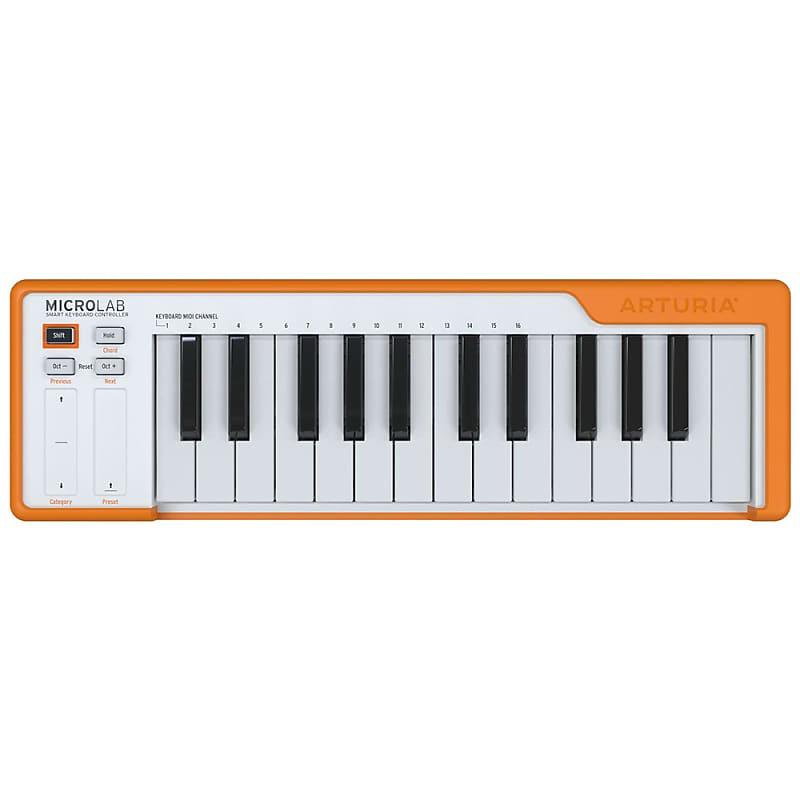 Arturia - Compact 25-Key USB Midi Controller, Orange