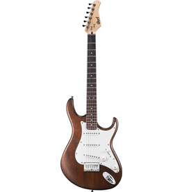 Cort - G100-OPW G Series Electric Guitar, Openpore, Walnut