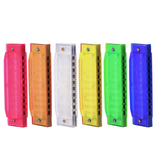 Hohner - 10 Hole Translucent Harmonica, Key of C (Assorted Colours)