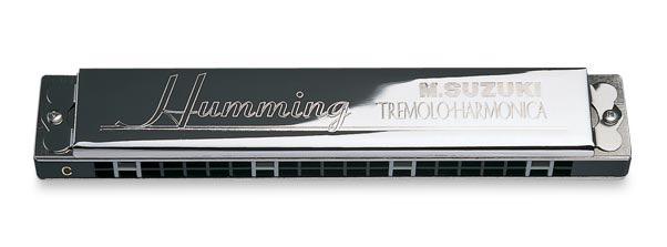 - SU-21H Humming Tremolo Harmonica, Dm