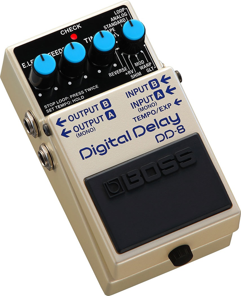 Boss - DD-8 Digital Delay Pedal