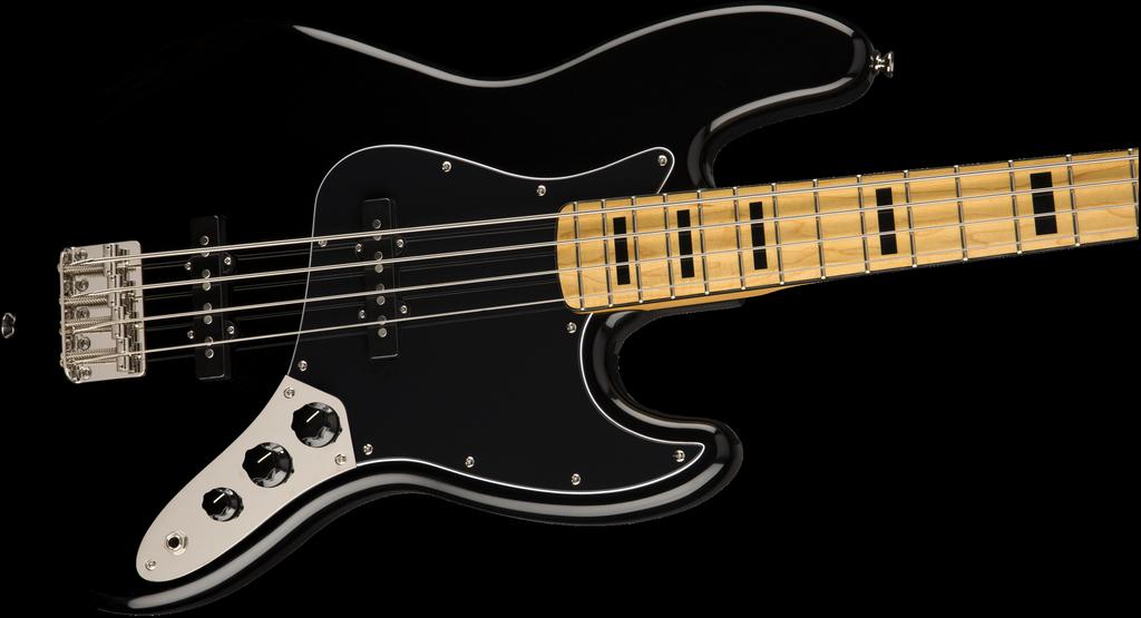 Squier - Classic Vibe '70s Jazz Bass, Black