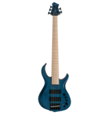 Sire - Marcus Miller M2 2nd Generation 5 String Bass Guitar, Transparent Blue