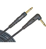 Planet Waves - 20' Custom Series Instrument Cable w/Right Angle