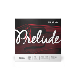D'Addario - J1010 Prelude Cello String Set, 1/8 Medium