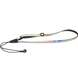 "Levy's - MP22-005 1/2"" Polyester Ukulele Strap, Multicolor w/Hawaiian Pattern"