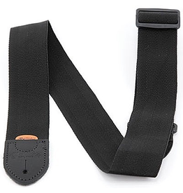 Martin - Nylon Guitar Strap w/Leather Ends, Black