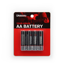 Planet Waves - PW-AA-04 AA Batteries, 4 Pack