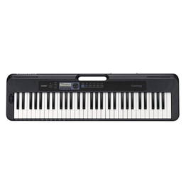 Casio - CTS300BK Casiotone 61 Key Portable Keyboard